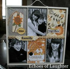 A beautiful gift to make for Mother's Day...a photo tray.