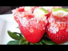 ▶ Strawberry Margarita Jell-O Shots! - YouTube