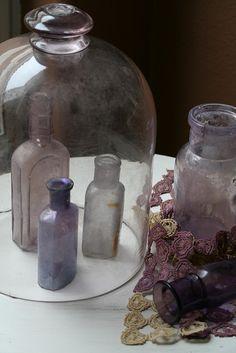 Bottle Love vintage bottles, vintag bottl, glass bottl, sea glass, old bottles