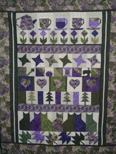 Friendship row quilt
