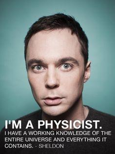 I love Sheldon-bk
