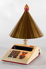 Vintage Calculator Lamp by LampstoreOriginals