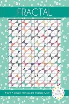 Fractal Quilt Geometric Bliss Quilt | Jeni Baker for Art Gallery Fabrics