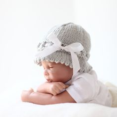 hat from baby couture