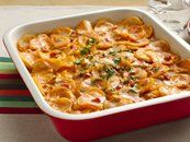 French Onion Scalloped Potatoes - Thank BCTGM members for Betty Crocker Specialty Potatoes