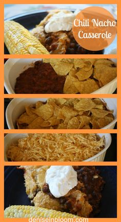 Chili-nacho-casserole -- comfort food for a chilly fall evening.
