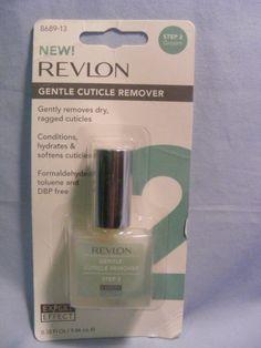 cuticl remov, revlon expert, remov step, gentl cuticl