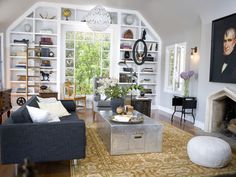 Before and After: Glee Co-Creator's L.A. Bungalow : On_tv : HGTV