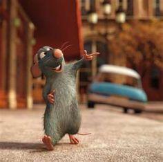 A cute little rat.