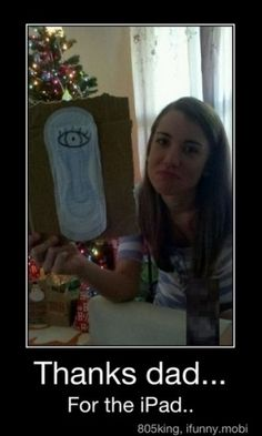 possibly a white elephant gift. Way funny.
