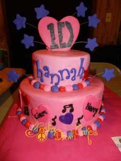 one direction cakes, happy birthdays, direct cake, hannah, 1d cake