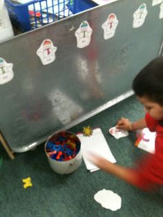 winter centers and activities center, classroom, magnet letter, winter, school, mondays, magnets, word work, letters