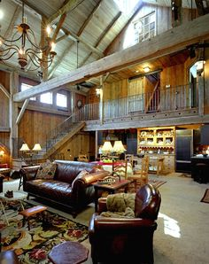 Converted barn, love this.