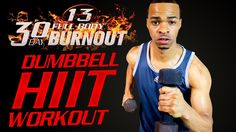 30 Min Dumbbell HIIT workout