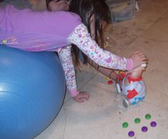 Strengthen your child's arms/shoulders for better writing/fine motor skills