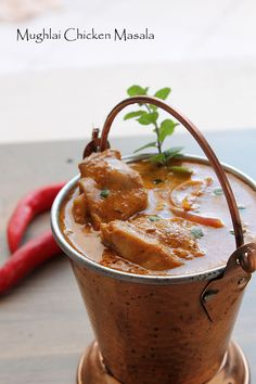 Mughlai Chicken Masala