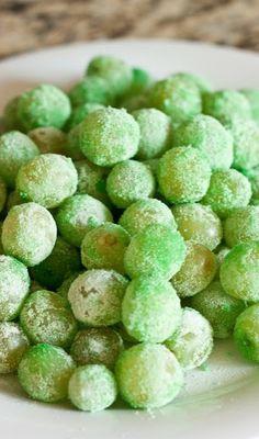 Sour Patch Grapes {Leprechaun Candy}