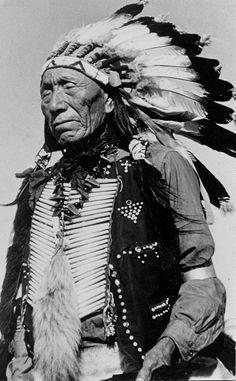 Black Elk (Oglala), 1937, via Flickr.