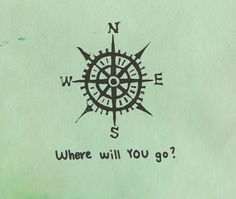 If I were to ever get a tattoo, a compass rose it would be.  (via Habitually Chic®)