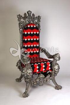 Throne Chair. alice in wonderland?