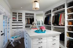 Cape Cod Project - Traditional - Closet - los angeles - by Lisa Adams, LA Closet Design