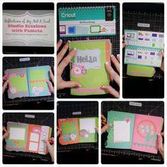 #CTMH Lollydoodle #Cricut Artbooking Mini Album by Pamela O'Connor