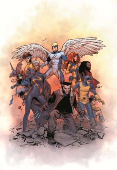 X-Men by Olivier Coipel - The best part is Jubilee being so over time travel to alternate universes.