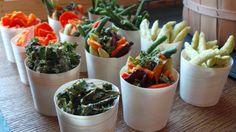 Custom miniature veggies. #FSTaste
