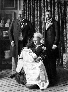 There's a new royal babby. This picture shows the last time the direct line of succession spanned four generations
