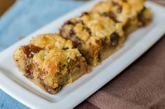 Salted Chocolate Chip Caramel Cookie Bars