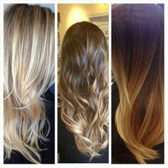 hair board, blond hair, ombre baliage, hair cut, baliage hair, hair inspo, baliage highlights
