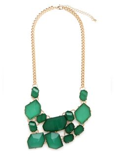 Emerald Craft Bib