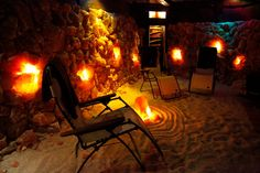 25 dollar gift certificate to Sola, Asheville's Salt Cave and Spa, Downtown Day Spa