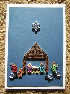 Nativity scene - Quilled Creations Quilling Gallery