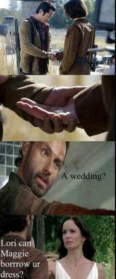 wedding time, walking dead, walk dead