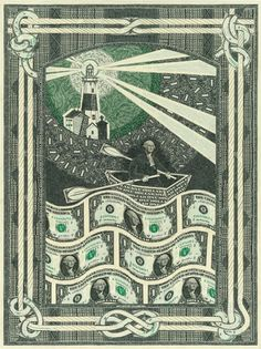 #Currency Collage by Mark Wagner.