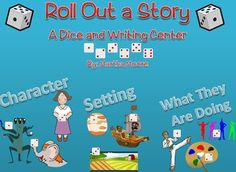 This fun dice center allows students to take a chance, roll some dice, and create an interesting story! You never know what story you might get! It could be a story about an elephant bowling on a pirate ship or a baby in the living room playing ball! $4.00