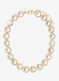 Crystal Wreath Necklace | J. Crew