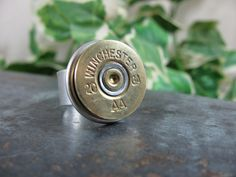 Winchester 20 Gauge Shotgun Shell Casing Statement Ring $25