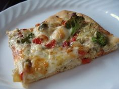 Chicken Pesto Alfredo Pizza