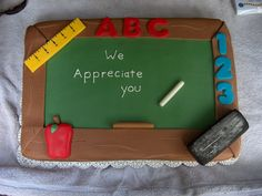 picture of chalk board looking fondant - Bing Images