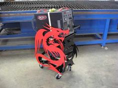 Plasma Cart Made with CNC Plasma Table - WeldingWeb™ - Welding forum for pros and enthusiasts