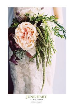 Ethereal Bridal Bouquet by JuneHartFlowers on Etsy, $165.00 - Silk Flowers