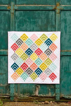 woodcut quilt // bijou lovely