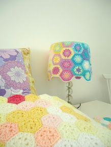 Hexagon lampshade
