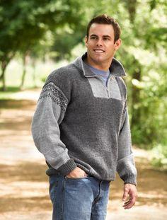 Alpine Zip-Neck Pullover