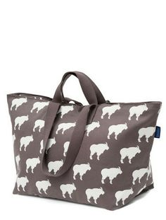 Weekend Bag in Mountain Goats