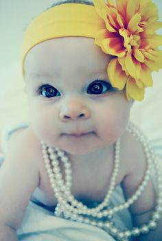 Beautiful Baby Girl. Cute pic!