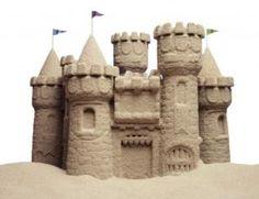 DIY #Nature #Craft - non toxic sand dough #kids #moms #dads #summer