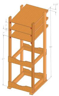 Water Storage Rack Plans: The Plans
